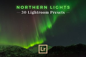 Northern Lights 30 Lightroom Presets