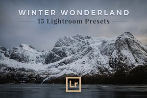 Lightroom Presets Winter Landscapes