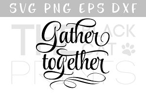 Gather together SVG, PNG, EPS, DXF