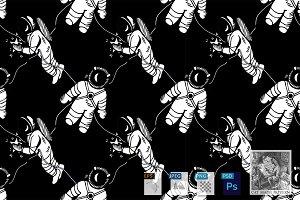 Astronaut pattern