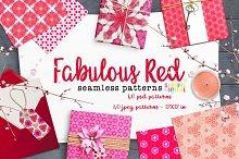 Fabulous Red Patterns