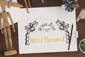 Fresh Wild Coconut FONT - OTF