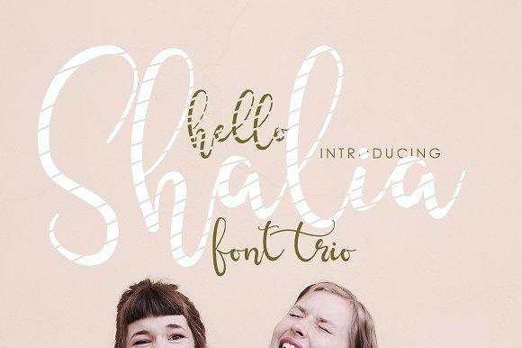 Hello Shalia FONT TRIO