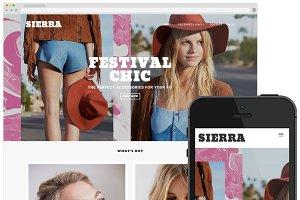 Sierra - Big Cartel Theme