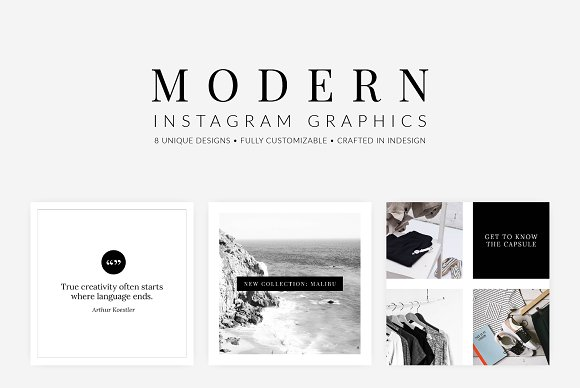 Modern Instagram Graphics