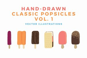 Hand-Drawn Classic Popsicles Vol 1