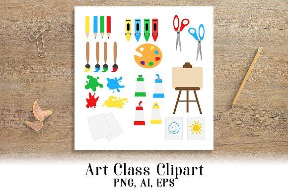 Art Class Clipart