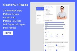Material CV / Resume