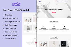 favo - Creative Portfolio Template