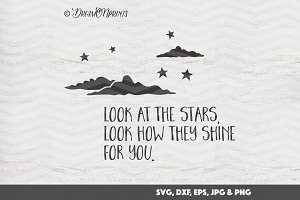 Stars SVG Cut & Print Files