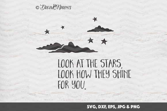 Stars SVG Cut Print Files
