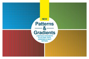 NEW: 4 Patterns & 4 Gradients