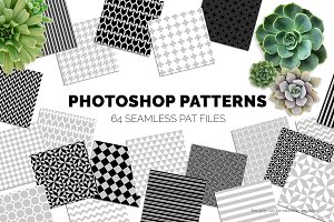 64 Seamless Photoshop Patterns