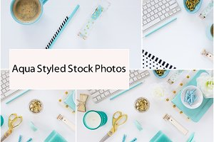 Aqua Styled Stock Photos (22 Photos)