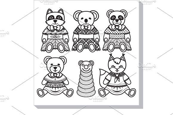 Children's Toy Animals