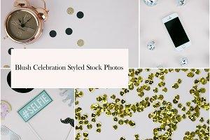 Blush Celebration Styled Stock Photo