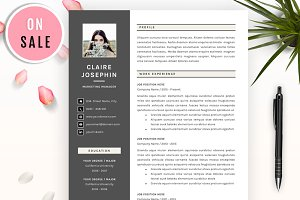 5 Pages Resume Template - SALE