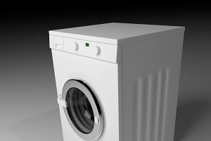 Domestic washing machine