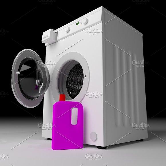 Washing Machine With Detergent