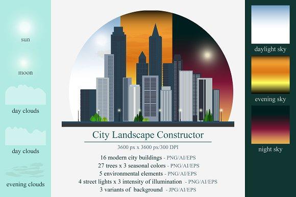 City Landscape Constructor Bundle