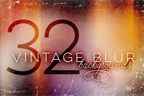 32 Vintage Blur Backgrounds