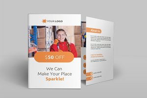 Cleaning Services Bi-Fold Brochure