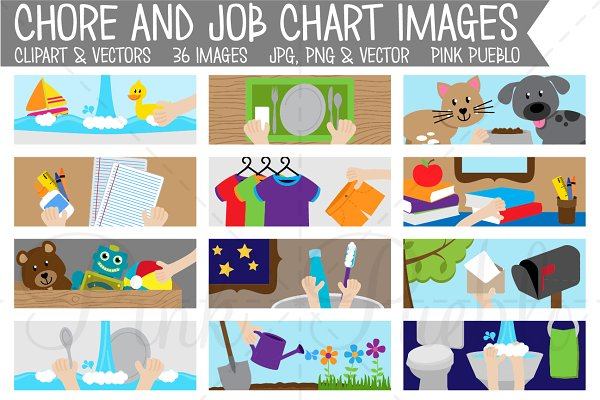 New Chore Chart Clipart | The Trip Clip Blog | Make Any List Then