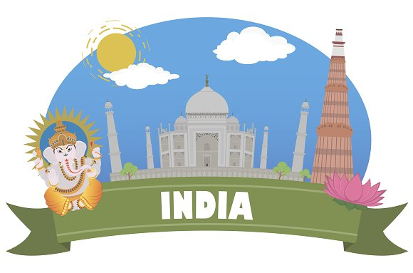 India. Tourism and travel - Objects