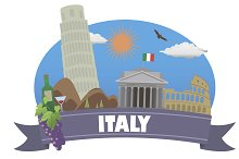 Italy. Tourism and travel