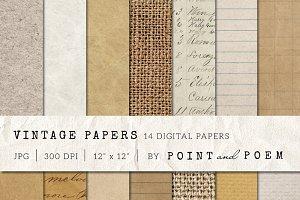 Old Vintage Paper Textures
