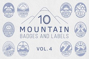 Mountain Badges vol.4