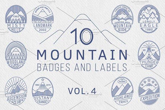 Mountain Badges Vol.4