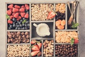 Quick breakfast cereals