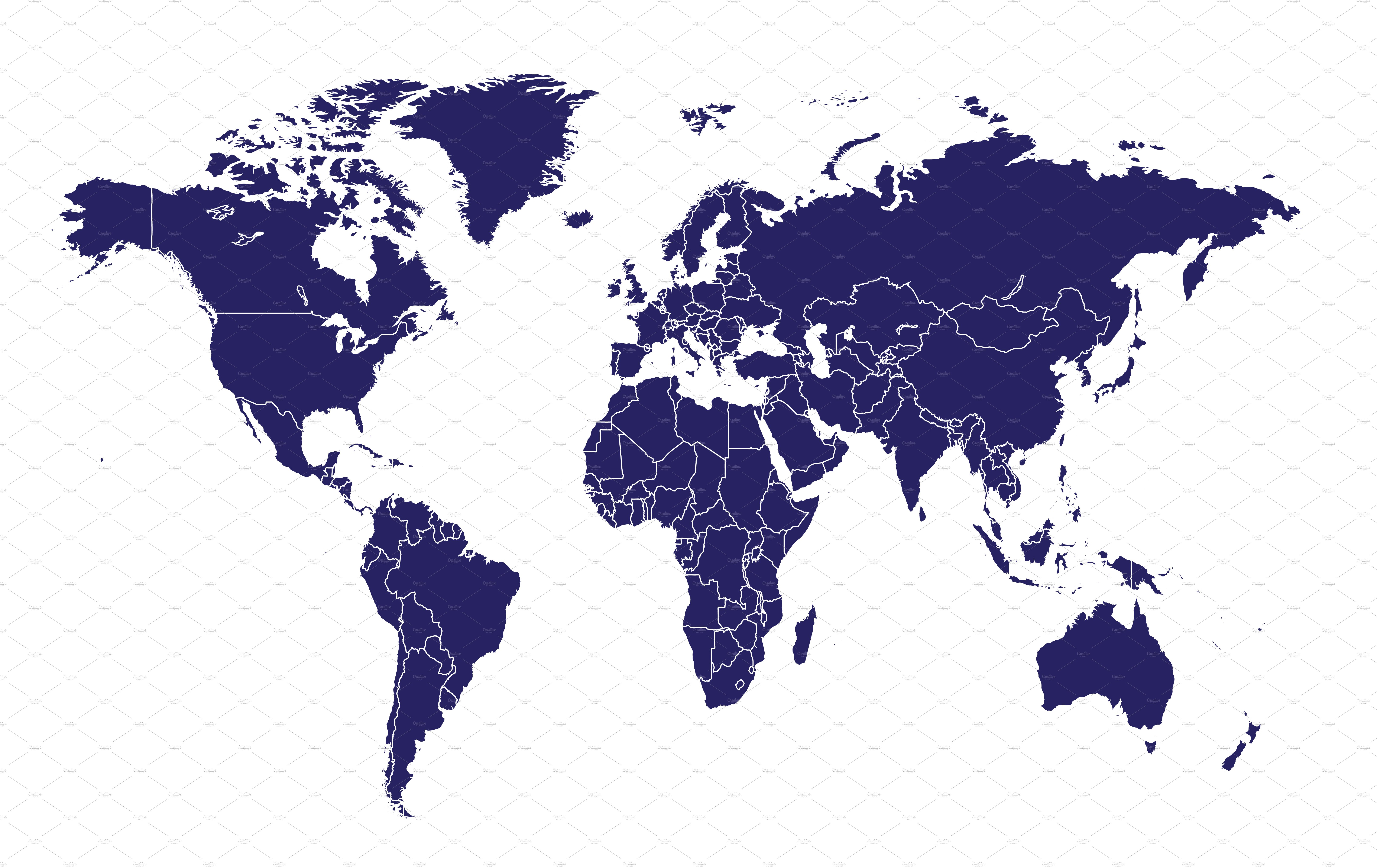 World map with border blue vector graphics creative market gumiabroncs Image collections