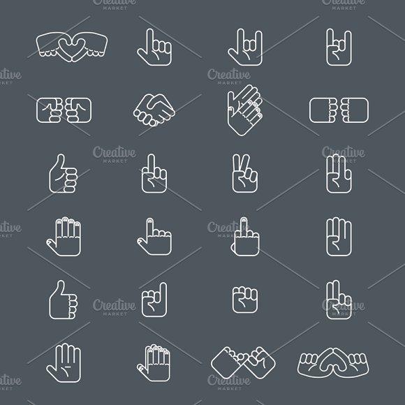 Business Hands Gestures