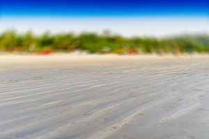 Horizontal vivid empty Indian beach bokeh blur abstraction backg