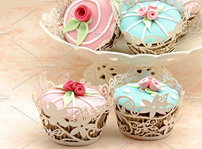 cupcakes flor primavera (23).jpg - Food & Drink