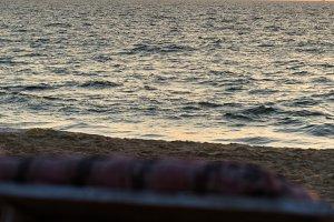 Ð'eck-chair ocean ship silhouette