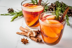 Hot fall & winter cocktail