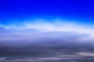 HORIZONTAL VERTICAL VIVID BLUE CLOUDSCAPE DRAMATIC CLOUDS BACKGR