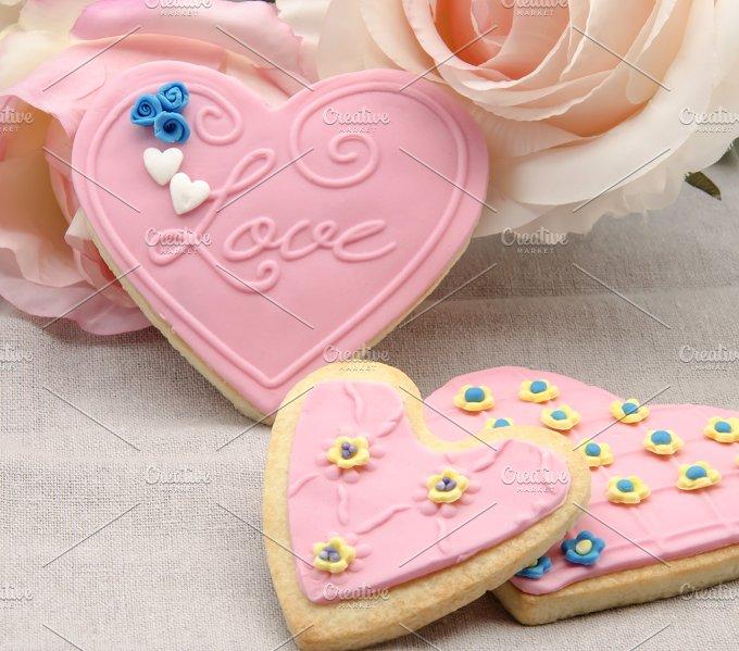 galletas corazon decoradas (55).jpg - Food & Drink