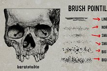 Brush Pointilism for Photoshop