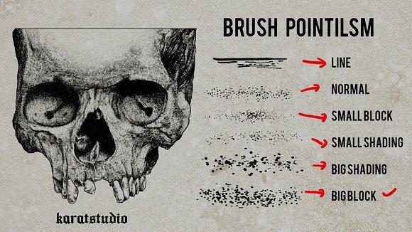 Brush Pointilism For Photoshop