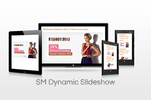 SM Dynamic SlideShow Magento Module