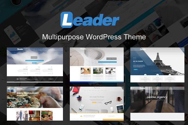 Leader - Premium WordPress Theme