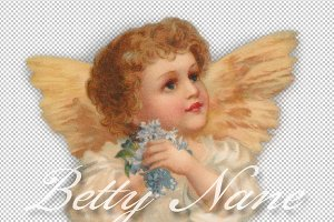 angel, clip art