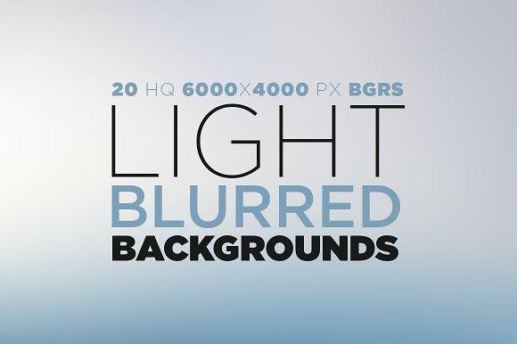 Light Blurred Backgrounds