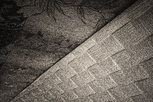 Diagonal black and white noise texture background