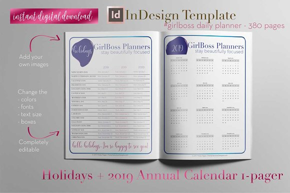 Daily Planner | InDesign Template