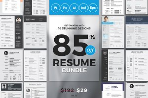 Best Selling Resume/CV Big Bundle